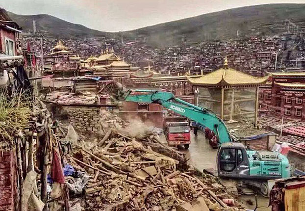 Larung Gar Nuns Urged by Monastic Leaders to Volunteer For Removal
