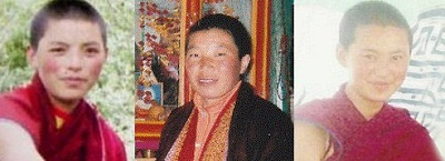 Three of the five women who have self-immolated are (from left to right) Tenzin Wangmo, Palden Choetso, and Tenzin Choedron.