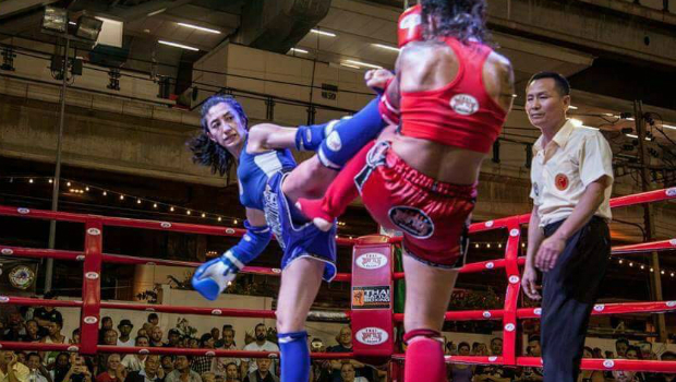 Kicking it With a Champion: Uyghur Athlete Dominates World Kickboxing