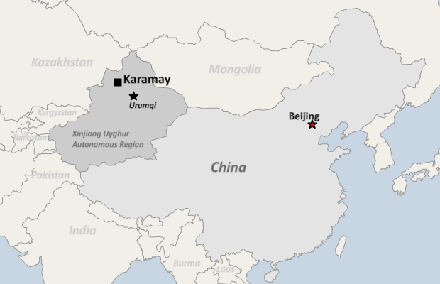 Map Xinjiang.Xinjiang City Bans Beards Islamic Dress From Public Buses