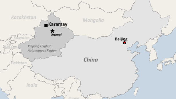 Chinese Police Detain at Least 10 Ethnic Kazakhs in Xinjiang For
