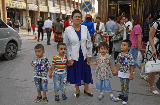 Chinese government targets Uyghur children with 'pomegranate flower' policy