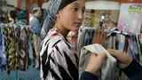Uyghur girl in Hotan