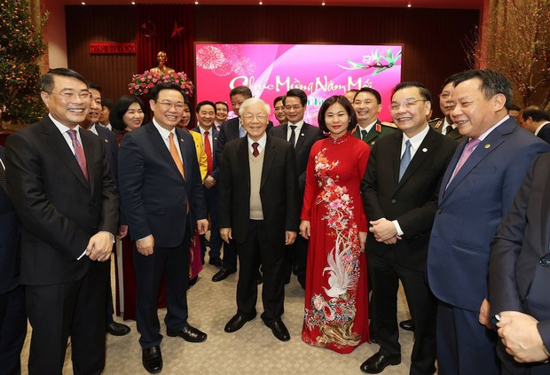 Vietnamese Top Leaders Ignore COVID-19 Protocol During Lunar New Year Holiday