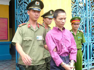 Tran Quoc Hien at his sentencing in 2007.