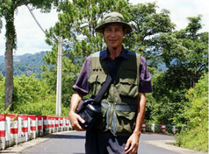 Nguyen Van Hai (pen name Dieu Cay) in an undated photo taken before his 2008 detention.