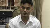 Nguyen Duy Huong is shown under arrest in Nghe An, March 22, 2021.