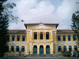 Undated photo of Ho Chi Minh City courthouse.