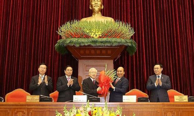 Vietnam's Communist Party Chief Keeps His Job in 'Rule-Breaking' Leadership Meeting