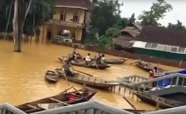Local Vietnamese Officials Say Dam Operators Made Flooding Worse