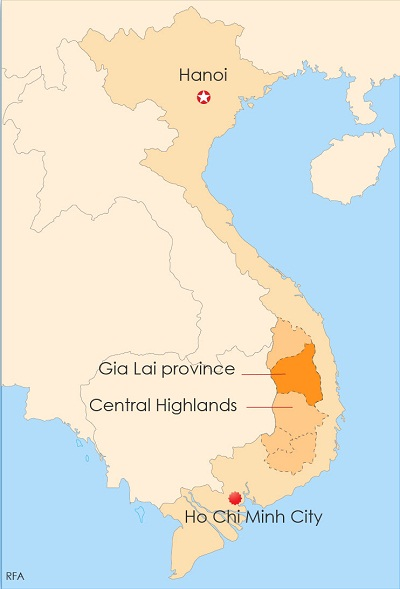 Vietnam Jails Eight Montagnards For Undermining National Unity