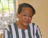 Pham Van Thu after his arrest in February 2012. Credit: VCHR