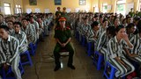 Prisoners listen to President of State's amnesty decision at Hoang Tien Detention Center in Hai Duong Province in a file photo.
