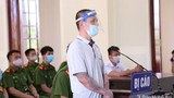 Vietnamese blogger Nguyen Van Lam is shown at his trial in Nghe An province, July 20, 2021.