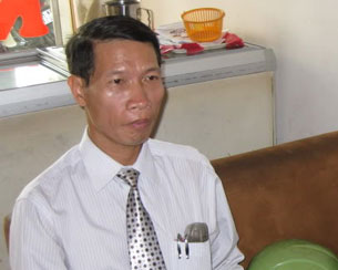 Le Thanh Tung in a photo taken in 2010.