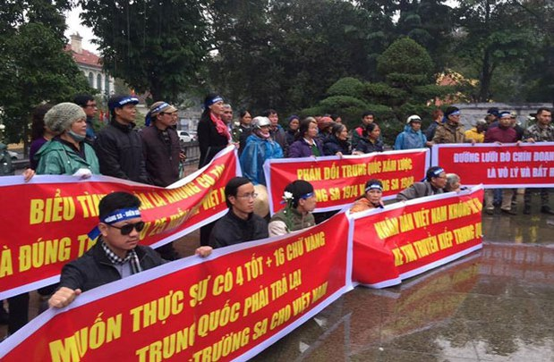Vietnamese Authorities Suppress South China Sea Demonstrations