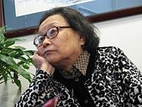 Gao Yaojie visits RFA headquarters, March 2007. Photo: RFA