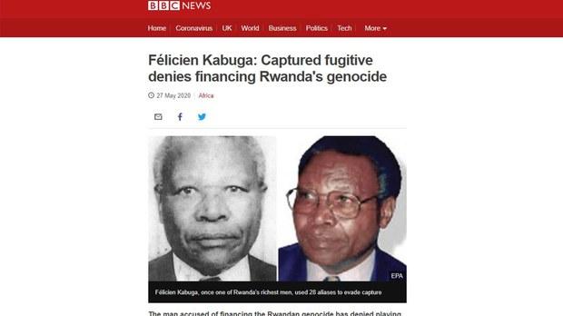 Felicien Kabuga Rwandan Genocide