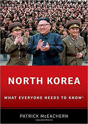 패트릭 메게크린 윌슨센터 연구원 저서 'North Korea: What Everyone Needs to Know' 책 표지.