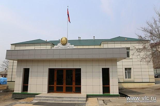 사진은 러시아 연해주 블라디보스토크의 북한 총영사관 전경.