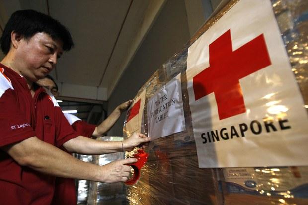 유엔, '싱가포르 적십자' 대북지원 제재면제 승인