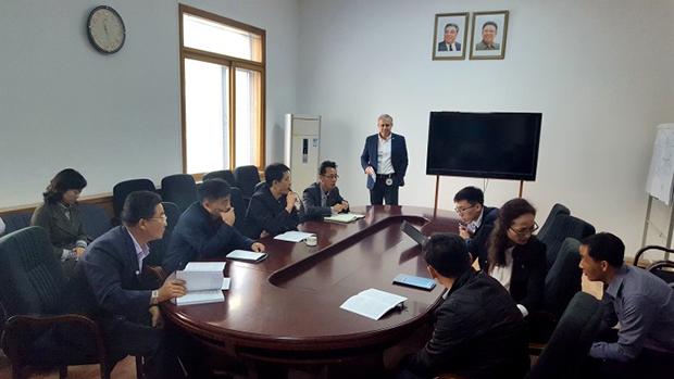 북한 적십자사 관계자 30여명이 지난 10월 9일부터 11일까지 국제적십자위원회 평양 사무소에서 개최된 국제인도주의법 관련 회의(workshop)에 참가했다.