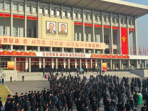 북한 노동당 최말단 책임자들이 세포비서대회에 참가하고 있다.