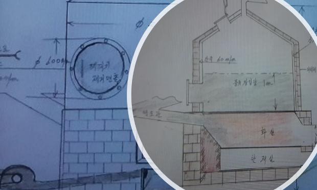 북한 개인 돈주들이 연유를 제조하는데 사용하는 설비의 일부.