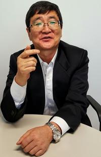 국가안보전략연구원 고영환 부원장 (RFA PHOTO/ 박성우)