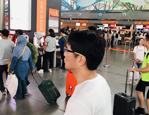 김정은 북한 국무위원장의 이복형인 김정남 씨가 살해된 말레이시아 쿠알라룸푸르 제2공항.