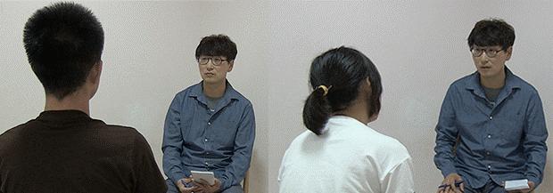 자유아시아방송(RFA)과 인터뷰한 탈북자 김진혜 씨(가명)와 박주영 (가명) 씨. 이들은 북한을 탈출한 이후 약 두 달에 걸쳐 제3국에 도착했다.