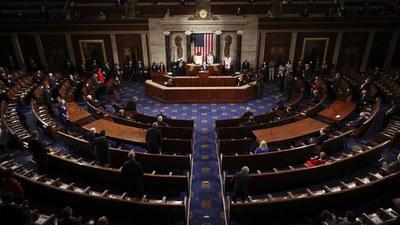 지난달 28일 조 바이든 미국 대통령이 의회에서 연설을 하는 모습.