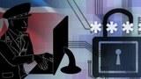 북한의 사이버 공격 일러스트레이션.