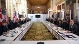 주요 7개국(G7) 외교·개발장관들이 지난 5일 런던에서 회의를 하고 있다.
