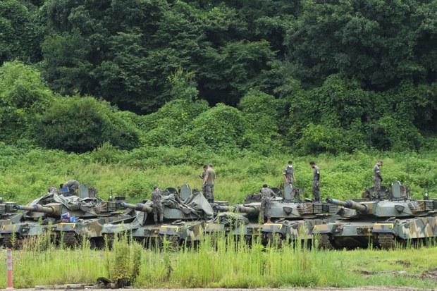 """국무부 """"한미훈련은 순전히 방어적…남북대화 지지"""""""