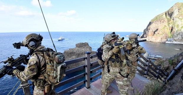"""""""인도태평양상 미 동맹국들 해군훈련은 북중 향한 경고"""""""