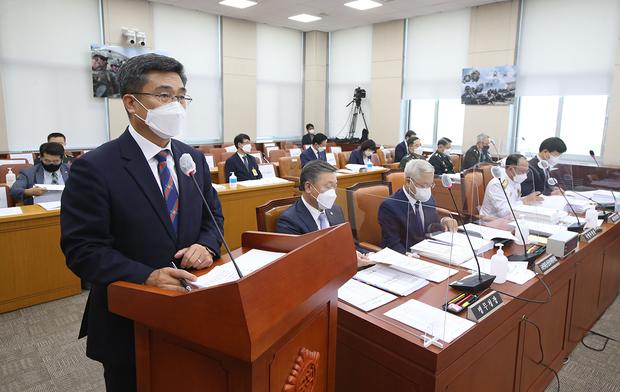 """한국 국방장관, 아프간 사태에 """"한미동맹 중요"""""""