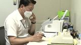 남북 간 통신연락선이 복원된 지난달 27일 통일부 연락대표가 서울 남북공동연락사무소에 설치된 남북 직통전화로 북측과 통화하고 있다.