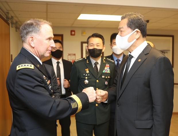 """에이브럼스 """"한국의 평화와 안정 위해 최선 다해야"""""""