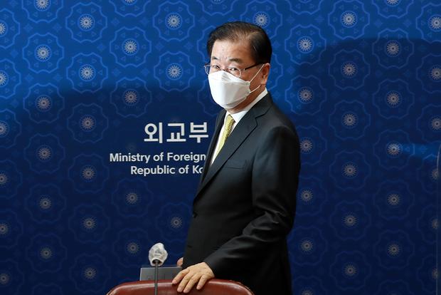 """정의용 """"UN 가입 30주년…남북관계 발전 노력"""""""