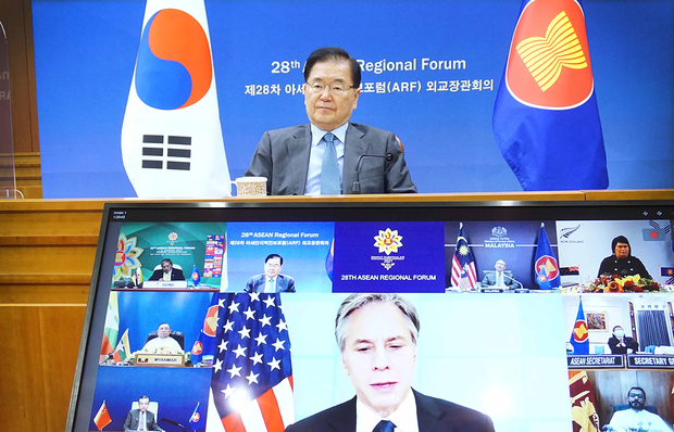 """""""블링컨, 대북대화 관련 다양한 가능성 고려 표명"""""""