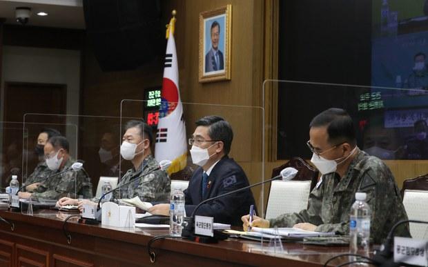 """서욱 """"북, 8차 당대회 준비에 총력…군사력 증강 지속"""""""
