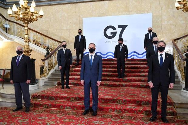 "G7외교장관 ""북 WMD∙탄도미사일 완전포기 목표 유지"""