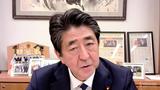 """아베 전 총리 """"대북 최대 압박정책 유지해야"""""""