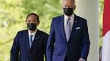 """바이든-스가, 첫 정상회담서 """"북한문제 협력 재확인"""""""