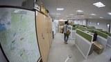 사진은 2018년 9월 14일에 촬영한 개성 남북연락사무소 내부 모습.