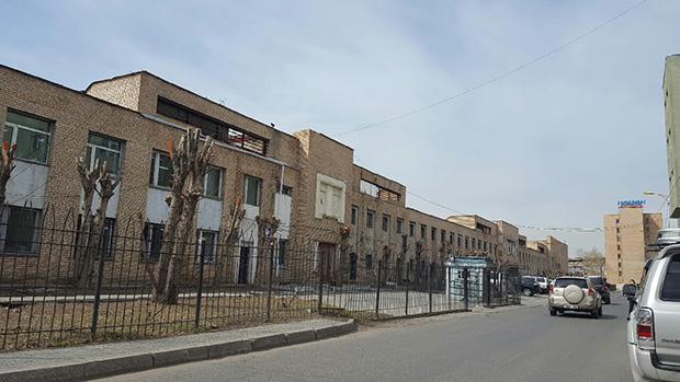 봉제공장이 모여 있는 울란바토르 공업지구의 모습. RFA PHOTO/ 노재완