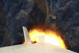 북TV, 미사일 발사장면 보도