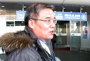 지난 18일 중국 베이징을 방문한 현학봉 영국 주재 북한대사.