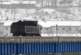 중국, 북한산 석탄 수입 전면 중단